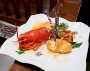 Lotte rôtie sauce homardine