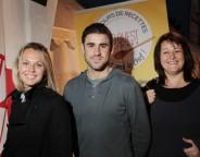 """Les trois lauréats du premier concours de recettes """"C'est moi le chef"""" (Photo Quentin Salinier)"""