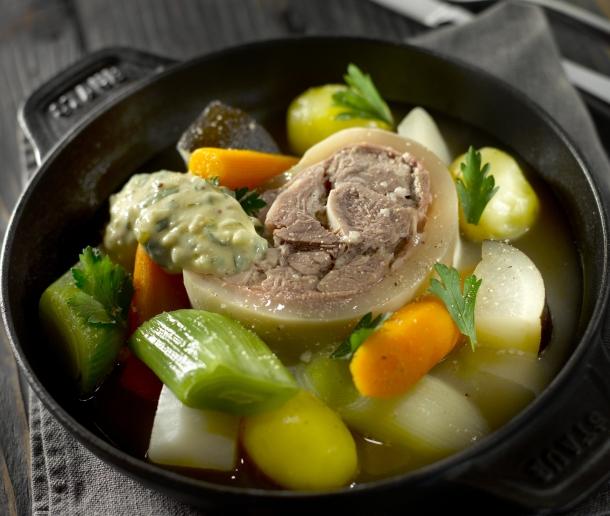 T te de veau blanche sauce gribiche sud ouest gourmand - Cuisiner une tete de veau ...