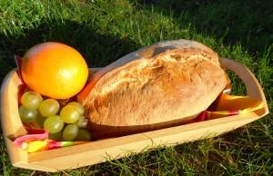 Un pain de tradition française fraîchement sorti du four. (Photo : Virginie Renaud)