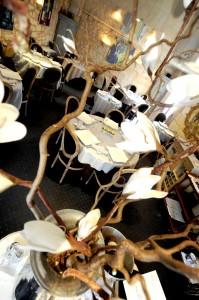 La salle du Clos du Roy attire tous les jours de nombreux gourmands.